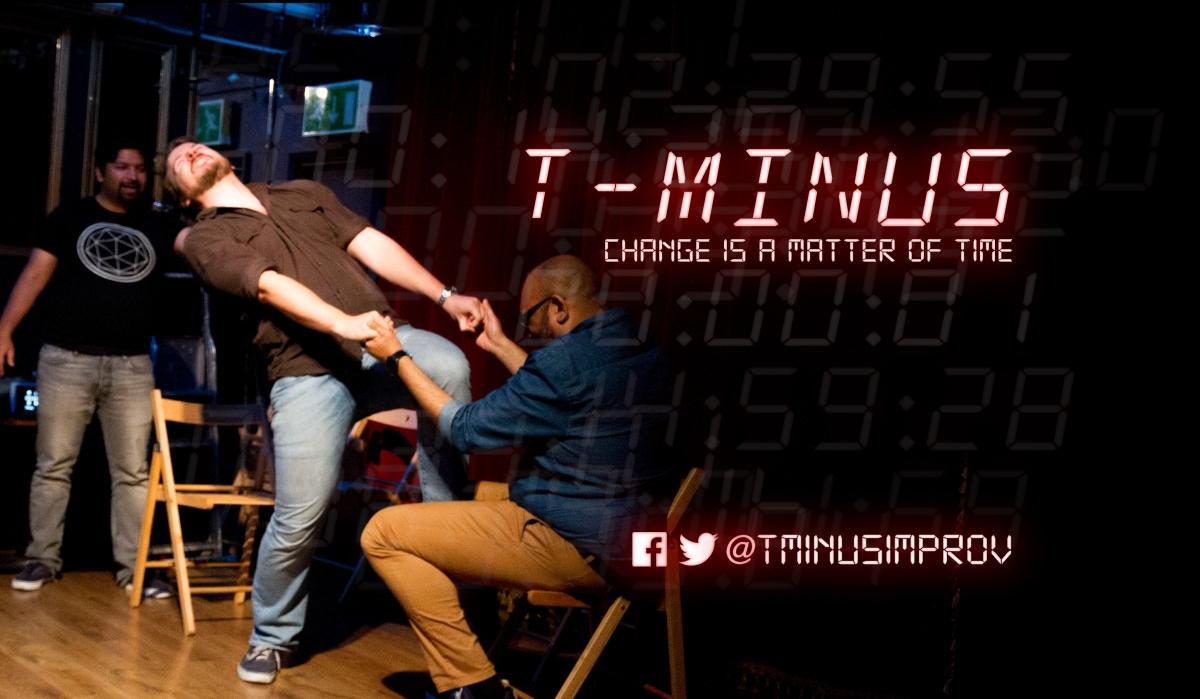 T-Minus MATTER OF TIME Logo